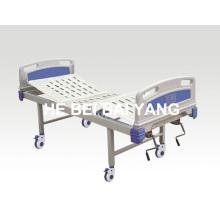A-97 Cama de hospital móvil de doble función manual