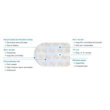 Pansement étanche en film transparent IV