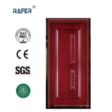Роскошные 100% твердая деревянная дверь (РА-N024)