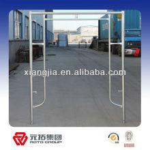 Q345 aluminium modular frame system scaffolding frame for construction