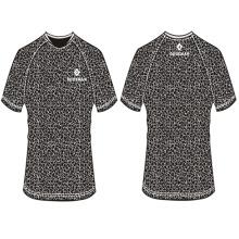 2017 nuevo diseño personalizado camiseta masculina en blanco