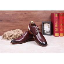 Sapatos de couro para homens