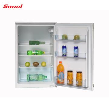 sob o refrigerador da despensa do contador refrigerador construído na porta única geladeira