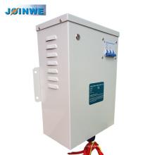 Logement en métal gris Énergie électrique à 3 phases Économiseur d'énergie Économie d'électricité industrielle