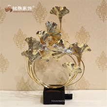 Special new design metal carving flower set for home decoration