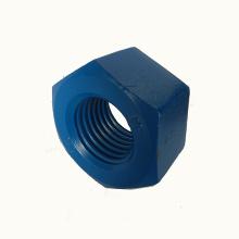 Tuerca hexagonal DIN 934 de acero al carbono galvanizado