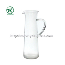 Clear Single Wall Glass Teapot by SGS (8*8.5*26.5)