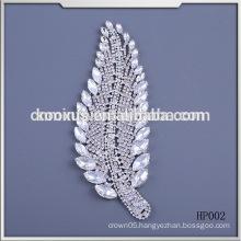 wholesale crystal rhinestone tree leaf embellishment appliques
