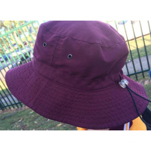 2016 Moda bordado balde chapéu chapéu pescador