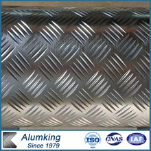 Diamond Checkered Aluminium / Aluminium Sheet / Plate / Panel 1050/1060/1100