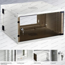 Gu 6u-15u Metal Rack Enclosure Telecommunication&Broadcasting Wall Mounted Cabinets