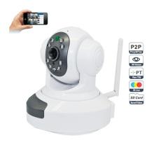 720p WiFi Wireless P2p Plug and Play Hdip Camera Two-Way Audio SD TF Card Slot 10m IR Distance