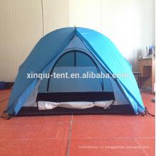 3 человека, хорошее качество палатка алюминий полюс