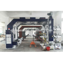 Multicolor Color & Page and plastic film printing Usage High Speed Flexo Printing Machine