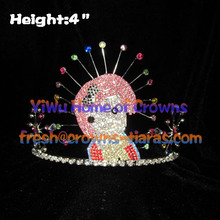 4inch Lovely Girl Princess Crowns