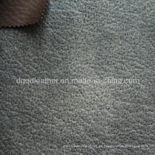 Cuero respirable de los muebles de la PU de alta calidad (QDL-FB0015)