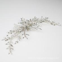 New design handmade bridal hair clip hair accessories crystal rhinestone  for women