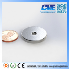 N40 Hochwertiger NdFeB Permanent Ring Magnet