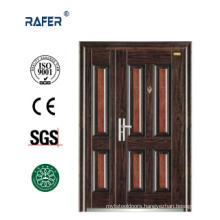 Four Panel Mother Son Steel Door (RA-S140)