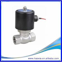 Matériau en acier inoxydable Electrovanne à vapeur à 2 voies, 12V, 24V, 110V, 220V, 380V