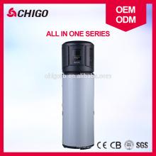 Китай компрессора copeland высокое качество источника воздуха к воде все в одном используется Проточный водяной тепловой насос подогреватель