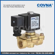 Diafragma de bajo precio levantamiento directo gas civil válvula solenoide normalmente cerrada