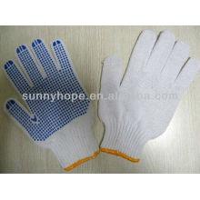 PVC-Punkt-Handflächen