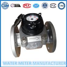 Grande Diâmetro Woltmann Tipo Aço Inoxidável Medidor de Água Lxlc-50 em Gaoxiang Marca