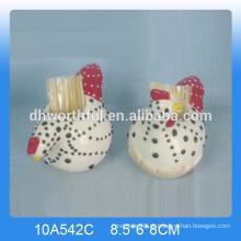 De boa qualidade cerâmica torneira toothpick titular para cozinha