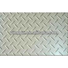 1045 prato de xadrez de alumínio