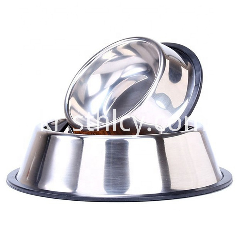 Stainless steel animal tableware