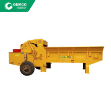 Large wood pallets mold crushing machine chain plate feed comprehensive wood chipper for sale