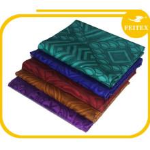 Feitex 5 Mètres / sac FEITEX Abaya Broderie Conceptions Africain Vêtements Qualité Normale 100% Coton Tricoté Bazin Brocart