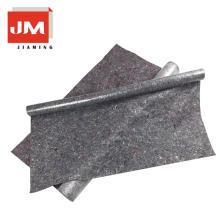 imperméable à l'humidité emballage feutre dos tapis 100 polyester gris tissu
