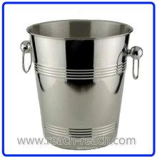 Cubo de hielo de cerveza de acero inoxidable (R-IC0122)