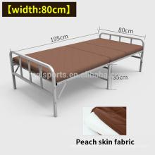 Cama de dobramento do convidado do metal saudável da forma com cama individual do colchão