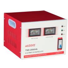 Новый SVC 2000va с однофазным широководным сервомотором с напряжением от 150 до 260 В Высокоточный автоматический стабилизатор напряжения переменного тока для домашнего использования