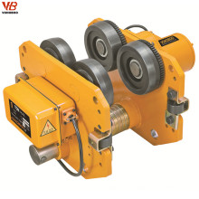 Good quality electric power trolley capacity 1000kg for electric chian hoist