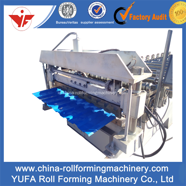 Rusia Sheet Roof Panel Roll Forming Machine
