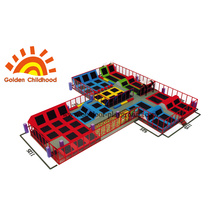 Colourful Trampoline Amusement For Kids
