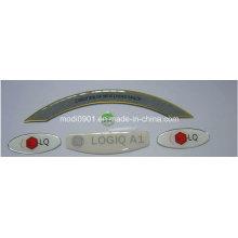 Decorative Crystal Label Custom Printing 2015 Popular Epoxy Resin Medicine Sticker Label