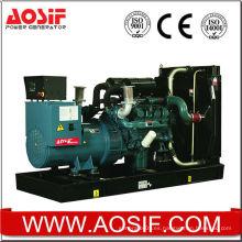 Generador verde a prueba de sonido 650kva con motor Doosan