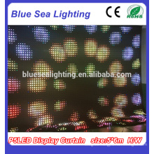Indoor LED curtain Lighting LED Curtain Flexible LED Display