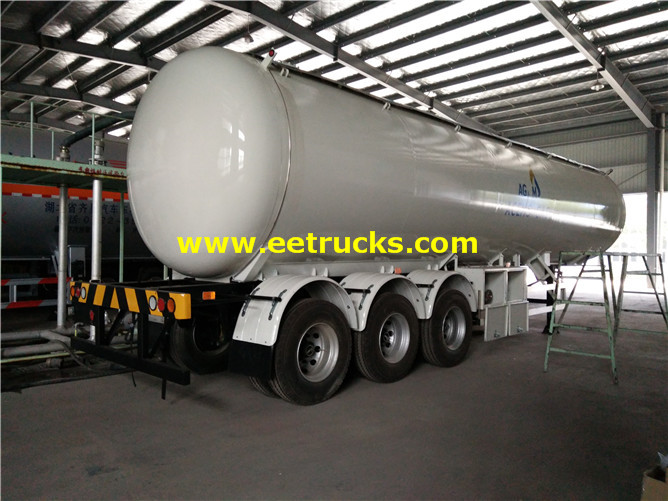 LPG Gas Tanker Semi-trailers