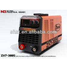 ZX7-315S dc mma inverseur double tension inverseur ménage electrique machine à souder à l'arc 220V / 380V