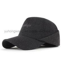 Sombrero de deportes de invierno caliente, Gorra de béisbol con orejas