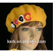 2015 new high quality winter angora custom knit hat