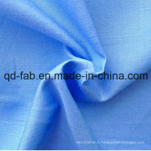 Tissu 100% coton teinté en tricot (QF13-0392)