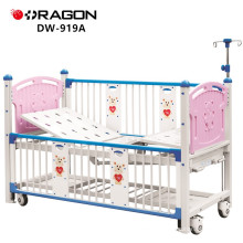 DW-919A Adjustable Deluxe Children Hospital Two-Crank Baby Cot Bed
