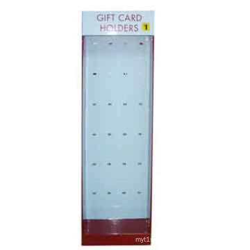 Top Sell Corrugated Paper Sidekick Display Rack for Gift Card Holders